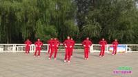 郑州市梦之队5队广场舞《综合运动》原创舞蹈 正背面表演 团队版