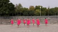 夕阳美舞队广场舞《共筑中国梦》原创舞蹈 表演 团队版