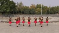春色满园广场舞队广场舞 十八年 表演 团队版