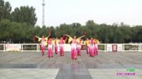 郑州市北顺一家亲二队广场舞《中国鼓》原创舞蹈 表演 团队版
