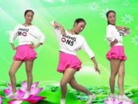 蓝莓思洁广场舞《漂洋过海来看你》原创现代舞 附教学口令分解动作演示