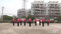 武汉黄陂盘龙城快乐双霞舞蹈队广场舞《爱如星火》表演 团队版