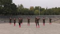 郑州阳光文艺团二队广场舞《美丽的中国》原创舞蹈 表演 团队版