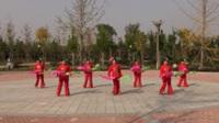 中牟舞出精彩舞蹈队广场舞《张灯结彩》原创舞蹈 表演 团队版