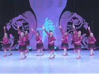 杨艺胖美人舞蹈队广场舞《姑娘呀姑娘》原创舞蹈 表演 团队版