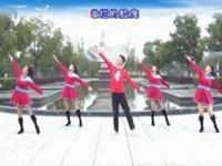 楠楠广场舞《跟我一起飞》原创流行现代舞 附口令分解动作教学演示