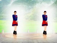 玫香广场舞《牵手来屏边》原创舞蹈 附口令分解动作教学演示