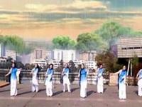 安妮妮广场舞《三月了的小雨》原创舞蹈 团队版