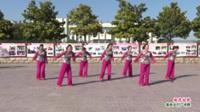 河南省周口市郸城县南丰西街广场舞队广场舞  桃花姑娘 表演 团队版