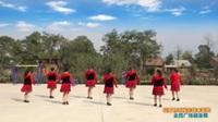 陕西华州大明崔马姐妹舞蹈队广场舞 花开的时候你就来看我  表演 团队版