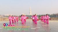 河南省周口市凤凰舞蹈队广场舞  老地方 表演 团队版