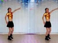 专属天使广场舞《自由奔腾》编舞风中的天使 正背面演示
