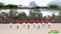 陕西华州大明龙湾舞蹈队广场舞 前世今生的缘  表演 团队版