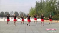 河南省项城市环城路广场舞  家乡的姑娘真漂亮 表演 团队版