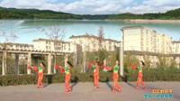 陕西华州瓜坡阳光靓丽舞蹈队广场舞 红红的日子 表演 团队版