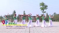 湖南省岳阳秋秋广场舞队 清明雨上 表演 团队版