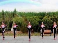 刘荣广场舞《中国人民有信仰》原创舞蹈 附正背表演口令分解动作分教学