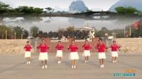 陕西华州高塘燕子舞蹈队广场舞 三月三 表演 团队版