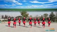 陕西华州赤水沙弥舞蹈队广场舞《一曲相送》表演 团队版