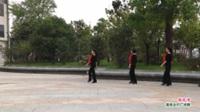 河南省信阳市潢川县光州模特队广场舞 南泥湾 表演 团队版