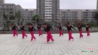 河南省周口市沈丘县卞路口姐妹团广场舞  金珠玛 表演 团队版
