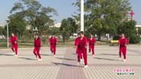 河南省周口市郸城县东工业区秀丽广场舞  不愿红尘错过你 表演 团队版