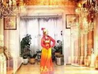 新疆少荣广场舞《印度舞蹈》原创舞蹈 演示少荣