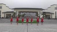 湖北黄梅太阳花健身队广场舞 飞歌醉情怀 表演 团队版