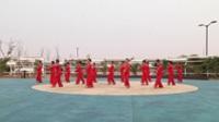 商丘民权县西湖春天舞蹈队广场舞 冰雪天堂 表演 团队版