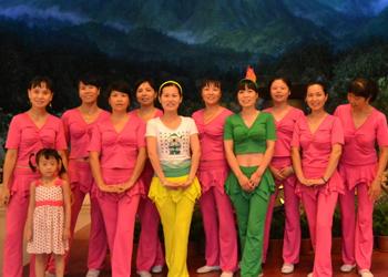 中国的月亮广场舞