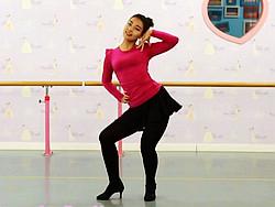 糖豆广场舞课堂《想你啦》编舞范范 附正背面口令分解教学演示
