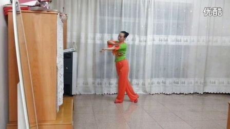 格格广场舞《花前月》原创舞蹈 附正背面口令分解教学演示