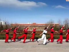 舞动旋律2007健身队《红红火火唱起来》原创舞蹈  附正背面口令分解教学演示