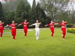 舞动旋律2007健身队《映山红》原创舞蹈 附正背面口令分解教学演示