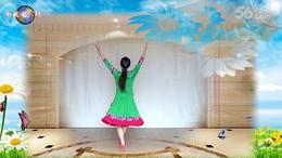 江西灵动飞舞广场舞《吉祥如意的日子》编舞王梅 正背面演示