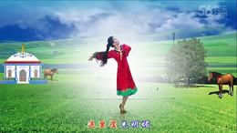 诚信广场舞《吉祥如意的日子》编舞王梅 正背面演示