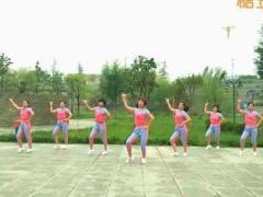 hehe+大众健身队《寸土不让 》原创舞蹈 附正背面口令分解教学演示