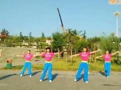 hehe+大众健身队《潇洒人生》原创舞蹈 附正背面口令分解教学演示