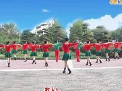 中油四季广场舞《吉祥如意的日子》原创舞蹈 附正背面口令分解教学演示