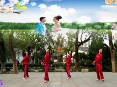 刘荣广场舞《爱情天堂》原创舞蹈 附正背面口令分解教学演示