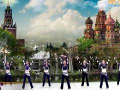 刘荣广场舞《舞动江苏》原创舞蹈 附正背面口令分解教学演示