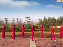 舞动旋律2007广场舞《金鸡报晓》原创舞蹈 附正背面口令分解教学演示