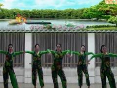 刘荣广场舞《爱要有你才幸福》原创舞蹈 附正背面口令分解教学演示