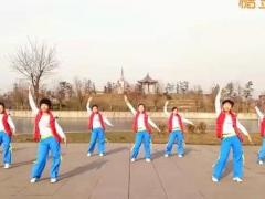 hehe+大众健身队《花儿朵朵开》原创舞蹈 附正背面口令分解教学演示