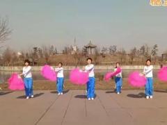 hehe+大众健身队《吉祥中国年》原创舞蹈 附正背面口令分解教学演示