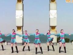 刘荣广场舞《丽江恋》原创健身舞 附正背面口令分解教学演示