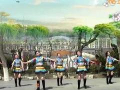 刘荣广场舞《一路唱到天安门》原创舞蹈 附正背面口令分解教学演示