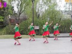 紫紫雨广场舞《唐古拉》原创舞蹈 附正背面口令分解教学演示