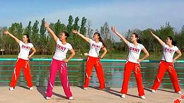 舞动旋律2007健身队《耶耶耶》原创舞蹈 附正背面口令分解教学演示