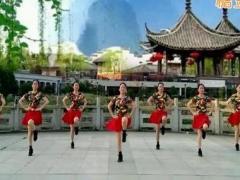 新风尚广场舞《江西姑娘》原创单人水兵舞 附正背面口令分解教学演示